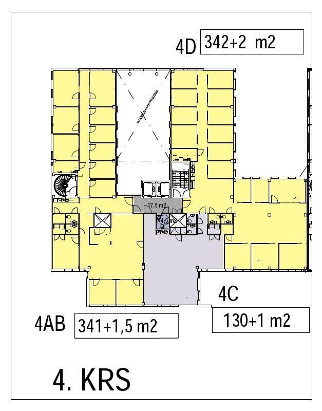 Äyritie 18 HEHKU, 344m2, 4. kerros, Toimistotila