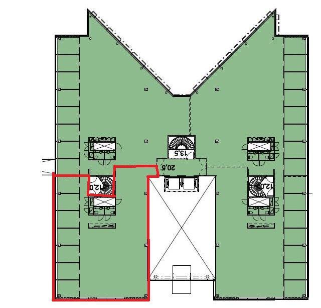 Itsehallintokuja 6 Talo 3, 242m2, 4. kerros, Toimistotila