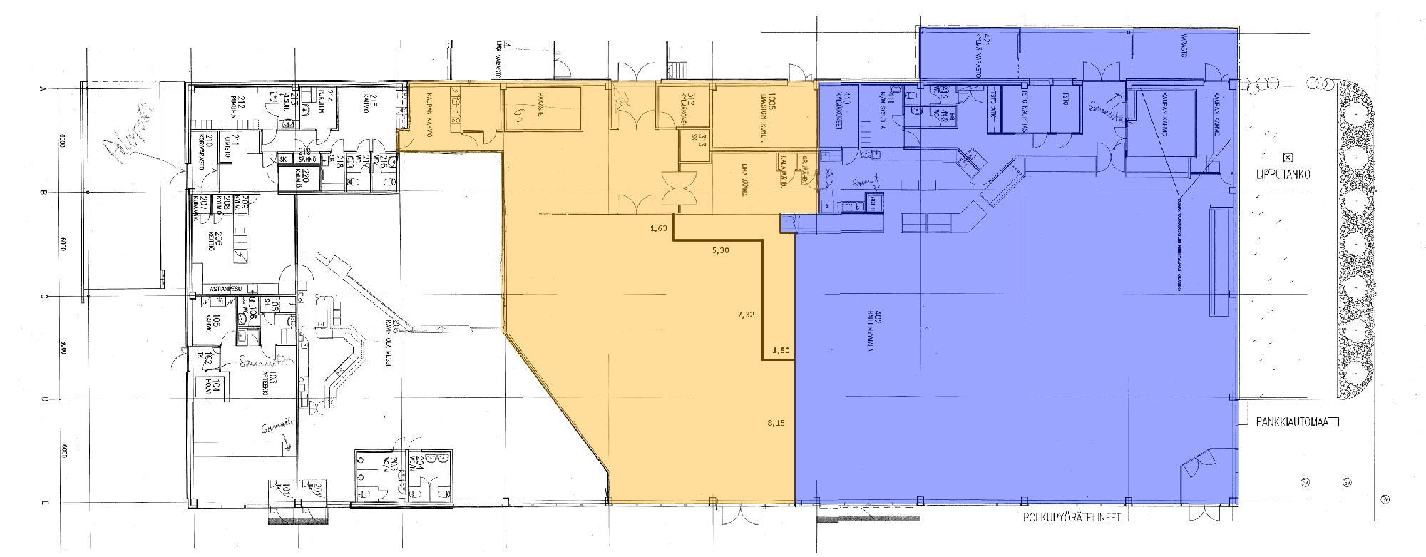Kappelinmäentie 8 VAASA, 641m2, Katutaso, Liiketila
