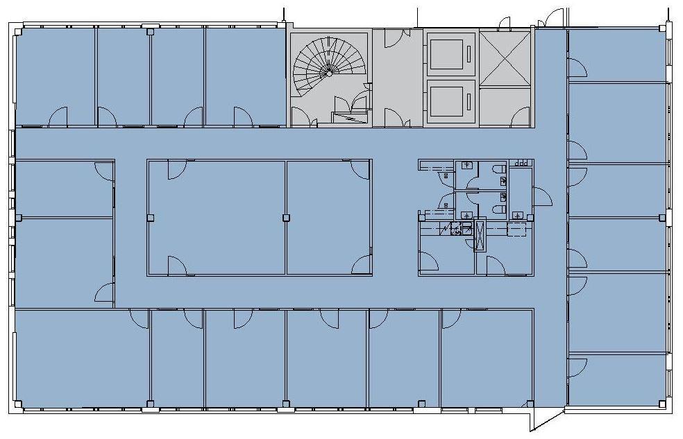 Pihatörmä 1 C, 448m2, 5. kerros, Toimistotila