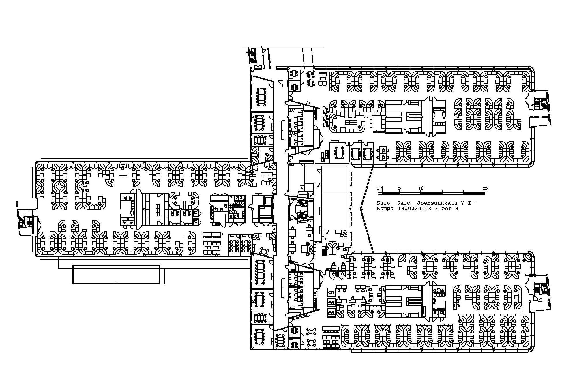 Joensuunkatu 7 SALO Kampa, 7580m2, Useita kerroksia, Toimistotila