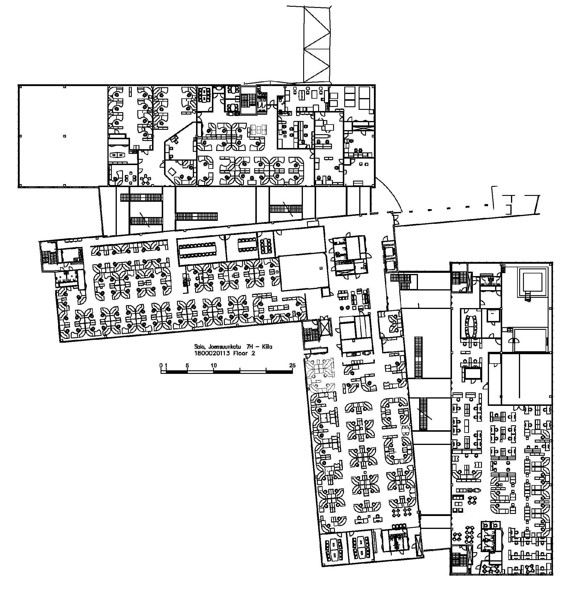 Joensuunkatu 7 SALO Kiila, 3045m2, 2. kerros, Toimistotila