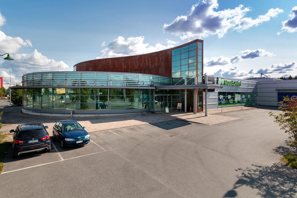 Tiiriönsuontie 2 HÄMEENLINNA, 620m2, Katutaso, Liiketila