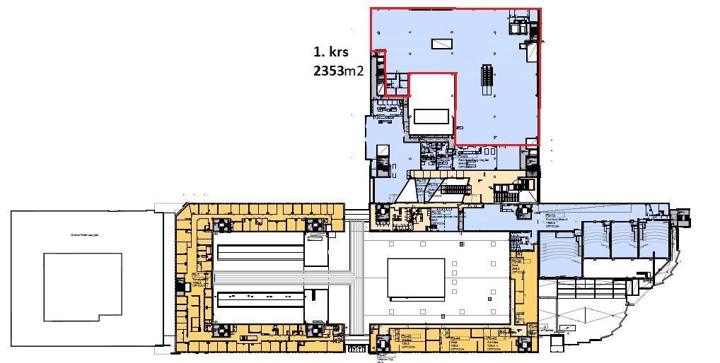 Brahenkatu 3-7 LAPPEENRANTA, 2353m2, 3. kerros, Liiketila