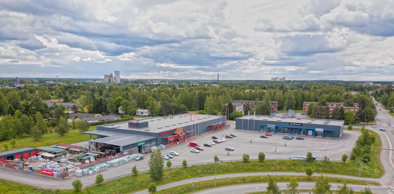 Päivölänkatu 2 SEINÄJOKI, 398m2, Katutaso, Liiketila