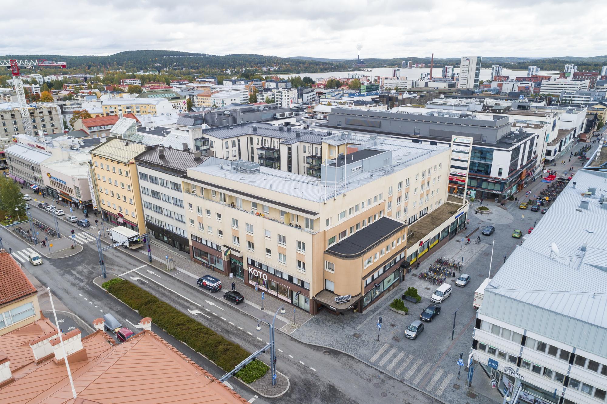 Yliopistonkatu 32 JYVÄSKYLÄ, 120m2, 2. kerros, Liiketila