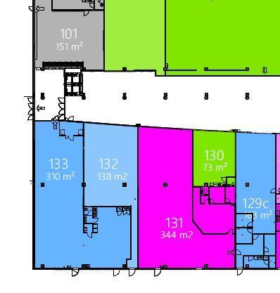 Koskikatu 27 ROVANIEMI, 138m2, 1. kerros, Liiketila