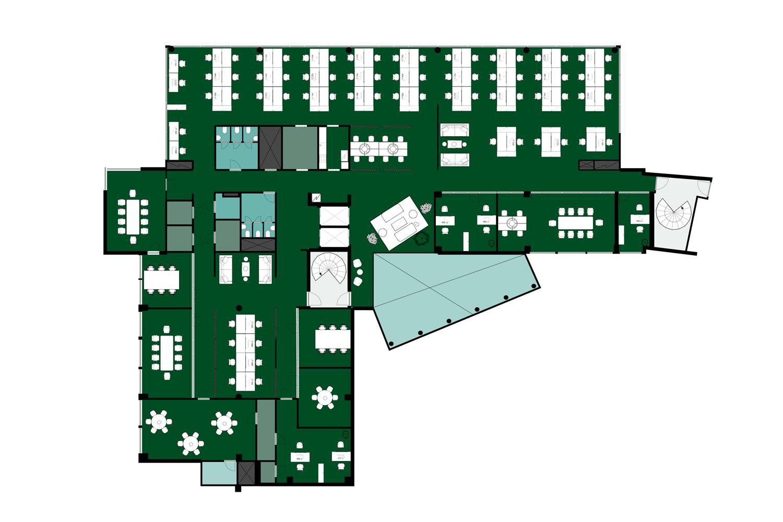 Linnoitustie 2 A, 1996m2, 2. ja 3. kerros, Toimistotila