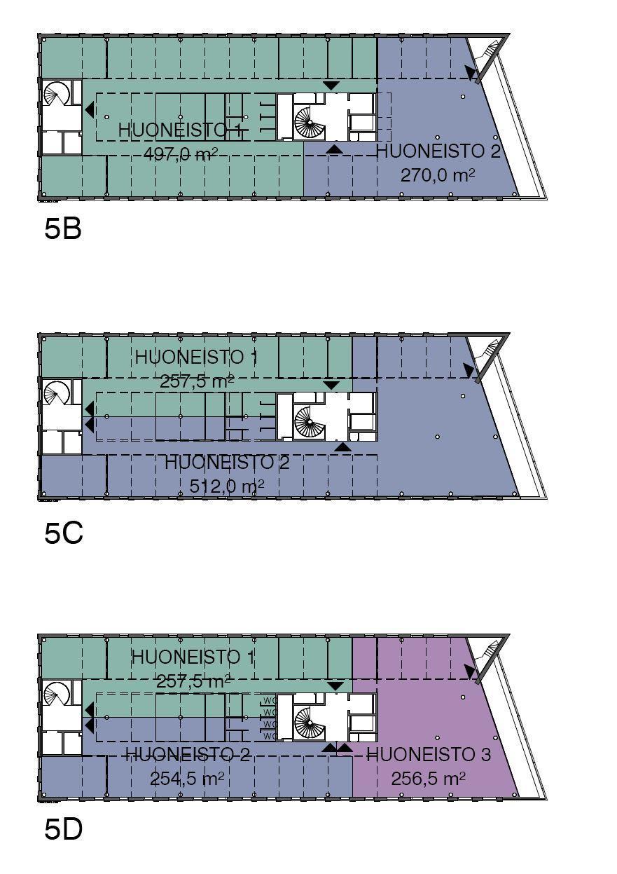 Piispanportti 7, 769m2, 5. kerros, Toimistotila