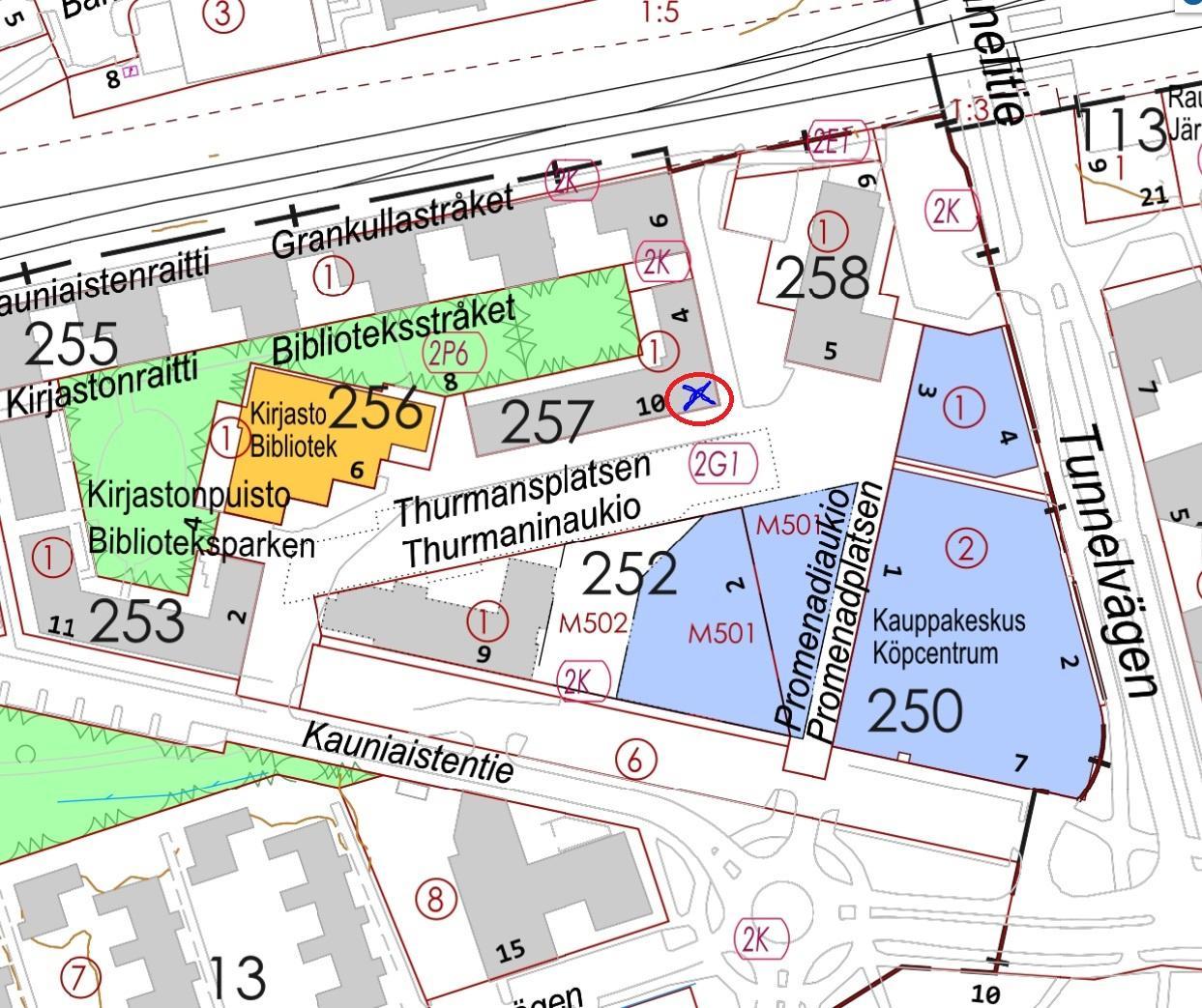 Thurmaninaukio 10, 141m2, Katutaso, Liiketila