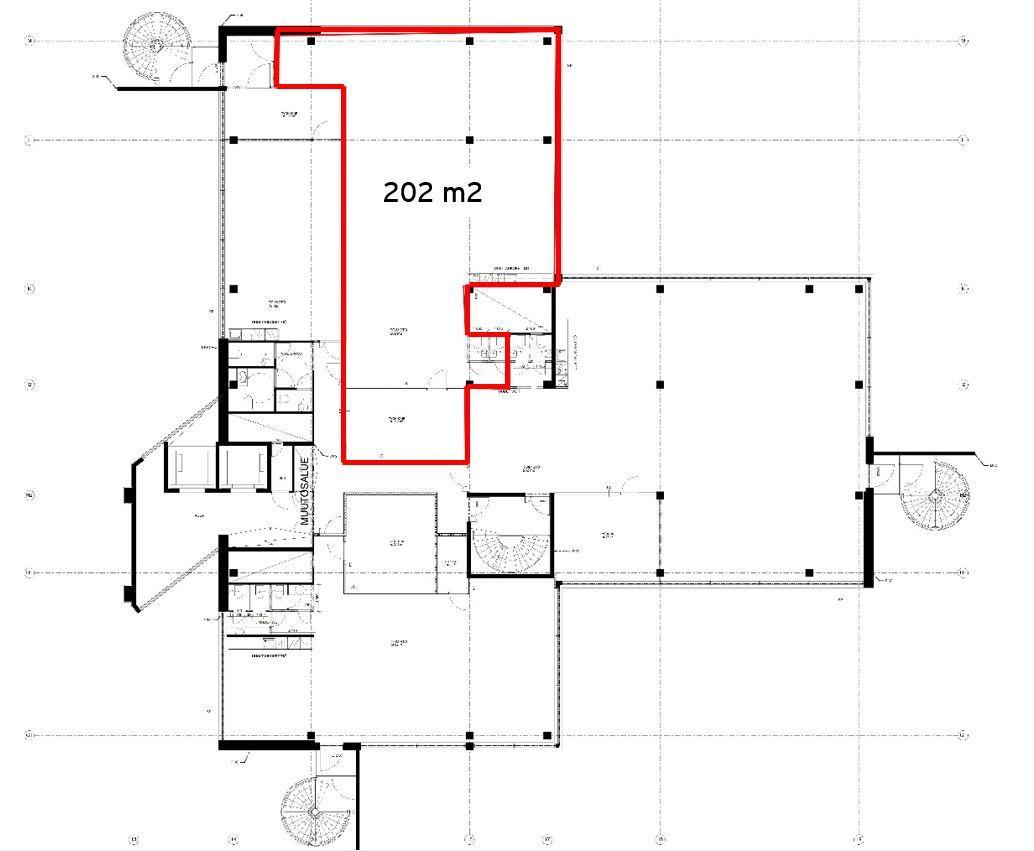Miestentie 9 C-talo, 202m2, 4. kerros, Toimistotila