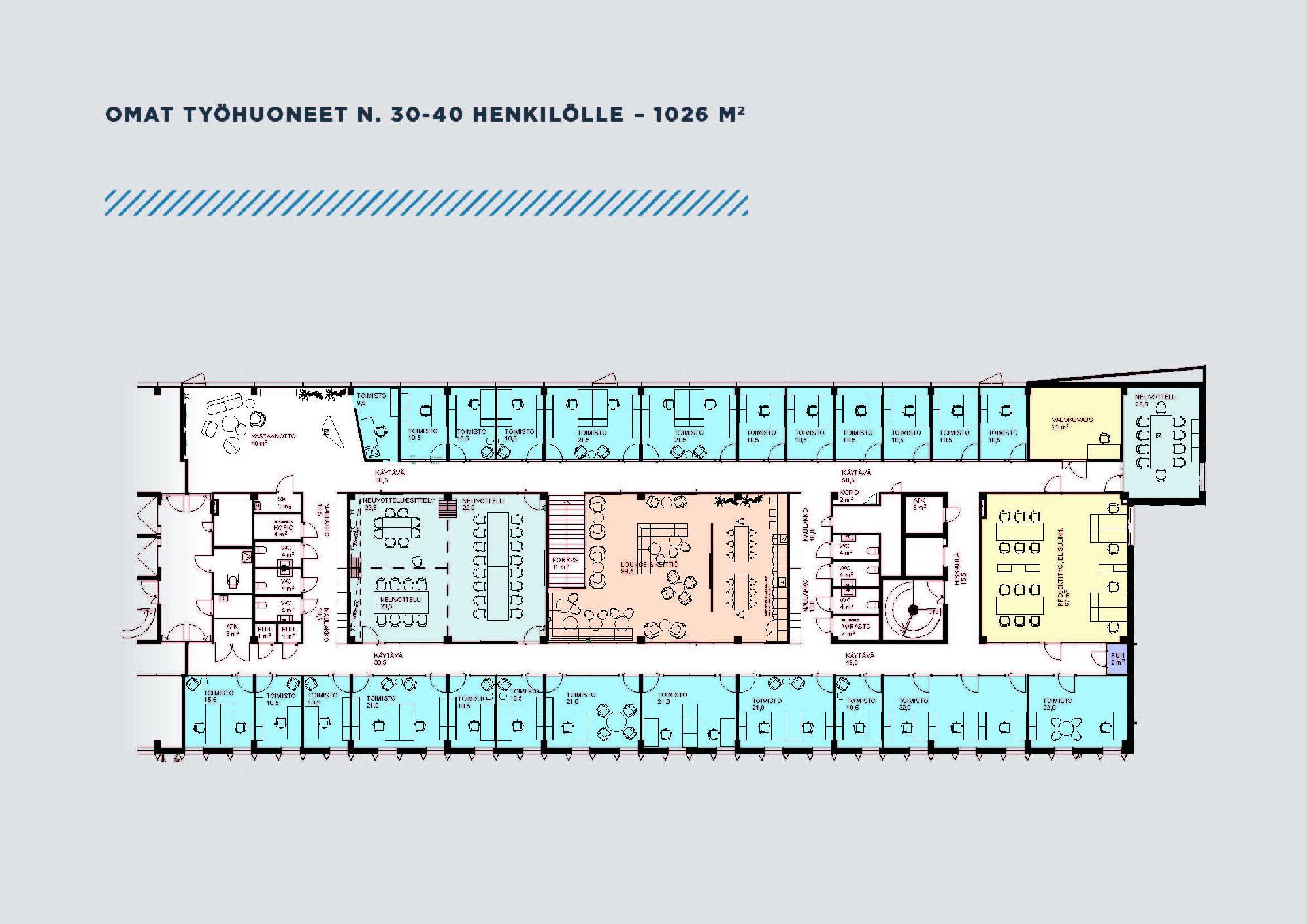 Robert Huberin tie 16, 3143m2, Useita kerroksia, Toimistotila