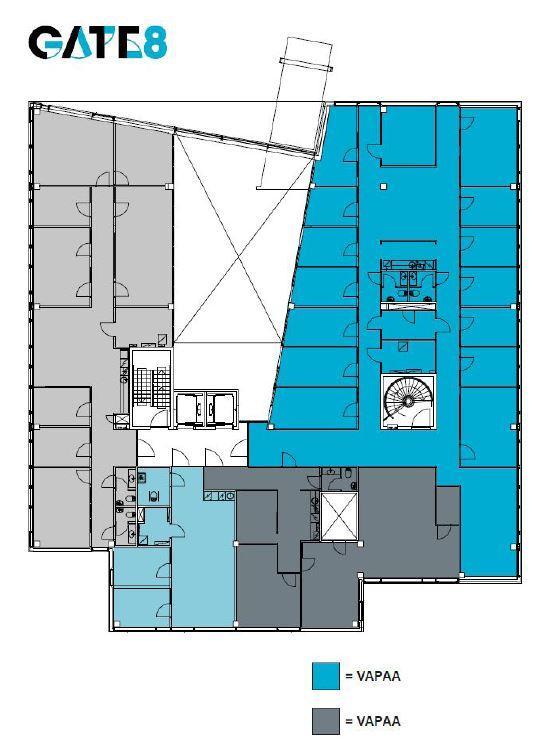 Äyritie 8 D LARGO, 381m2, 3. kerros, Toimistotila