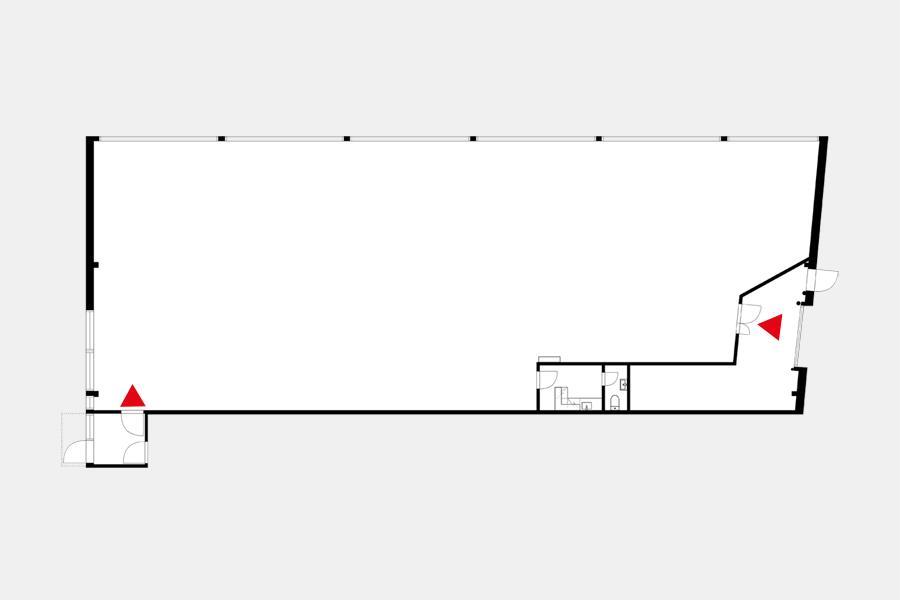 Nuijamiestentie 9 NOKIA, 445m2, Katutaso, Liiketila