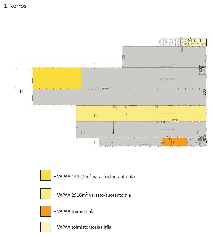 Etu-Hankkionkatu 1 TAMPERE, 703m2, Useita kerroksia, Toimistotila