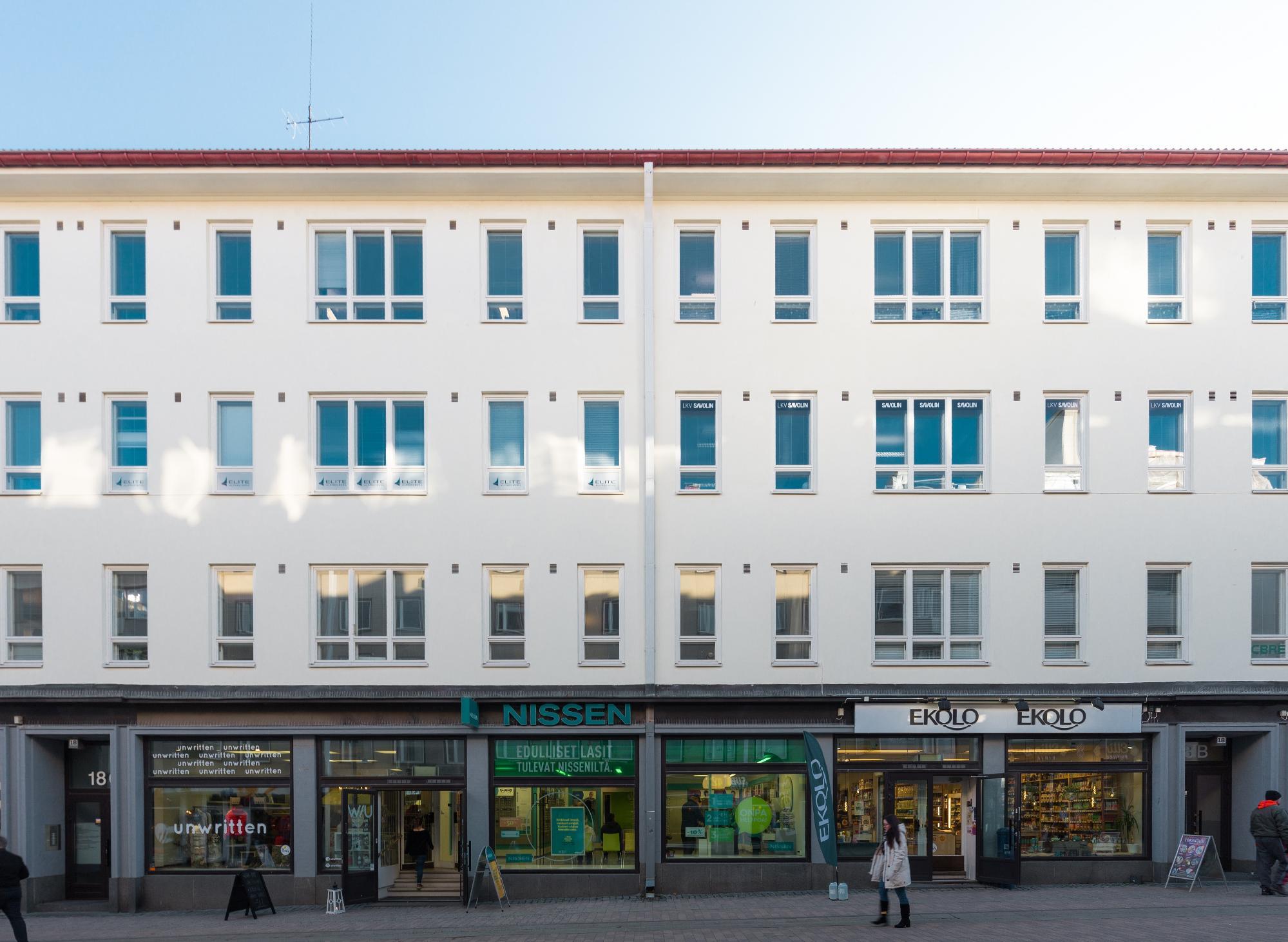 Kauppakatu 18 JYVÄSKYLÄ, 47m2, 2. kerros, Toimistotila