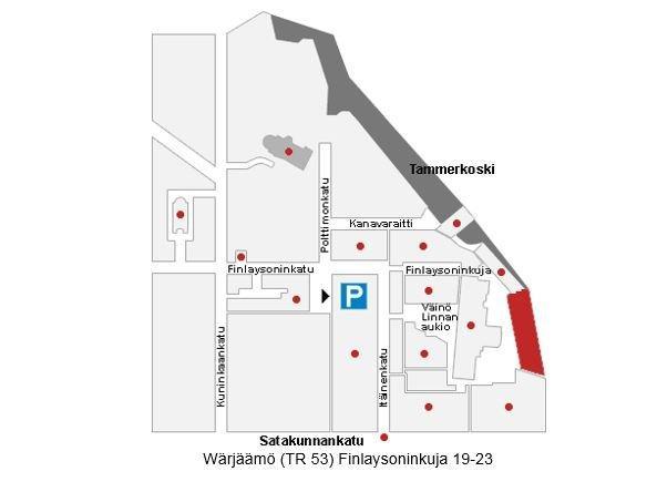 Finlaysoninkuja 19-23 TAMPERE, 808m2, Useita kerroksia, Toimistotila