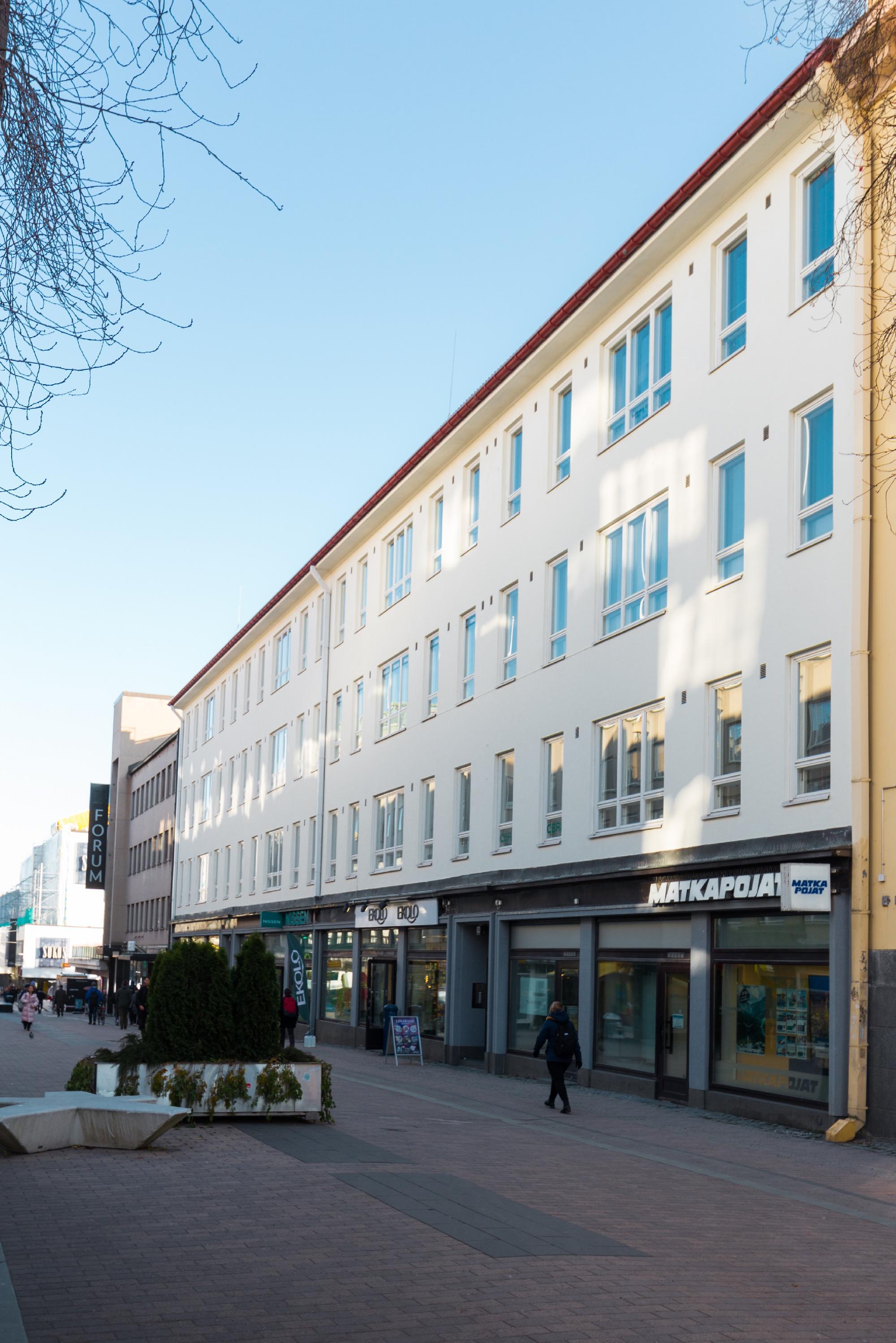 Kauppakatu 18 JYVÄSKYLÄ, 42m2, 2. kerros, Toimistotila