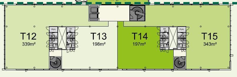 Karvaamokuja 2 Talo 2, 186m2, 6. kerros, Toimistotila