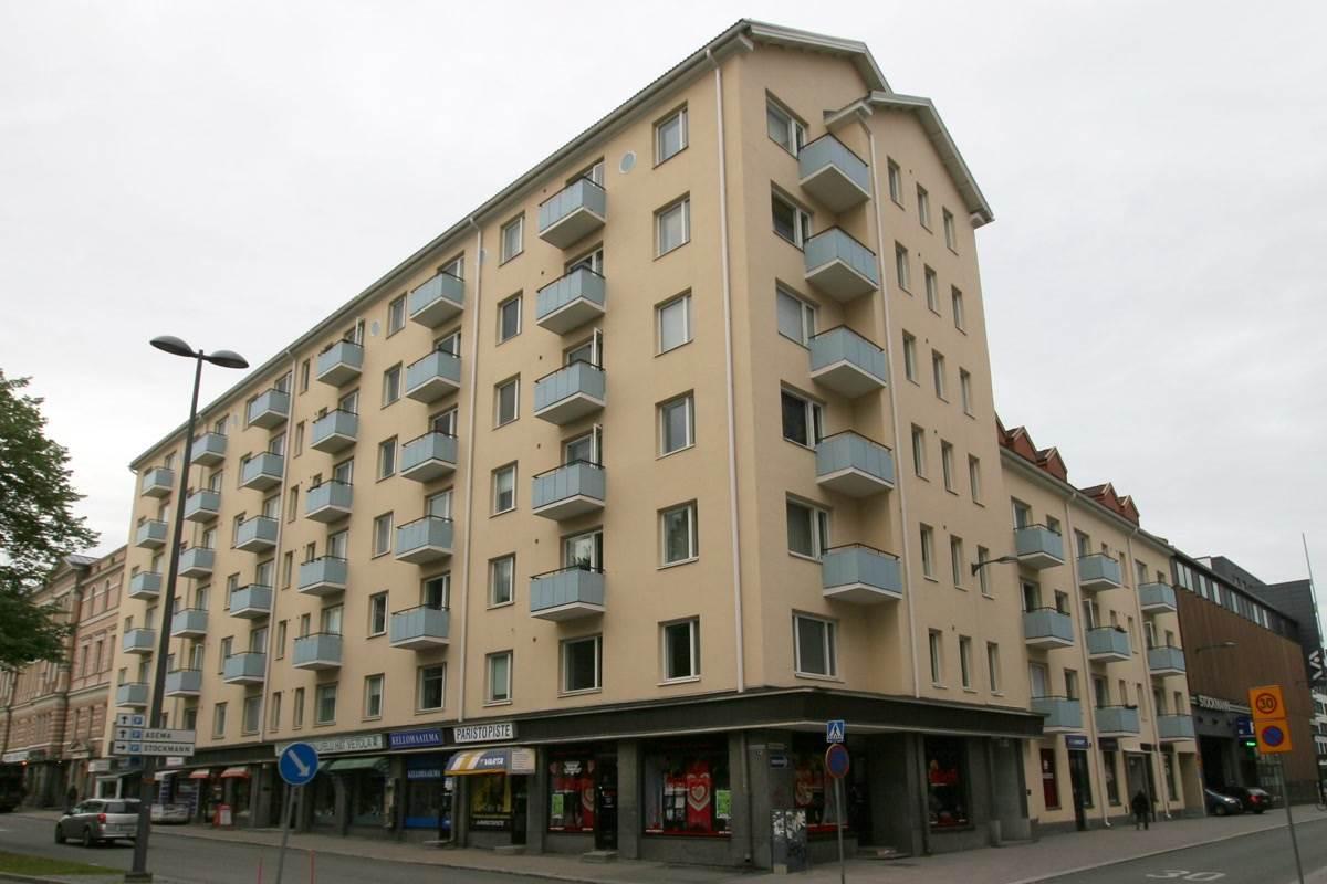 Rautatienkatu 12 TAMPERE, 120m2, Katutaso, Liiketila