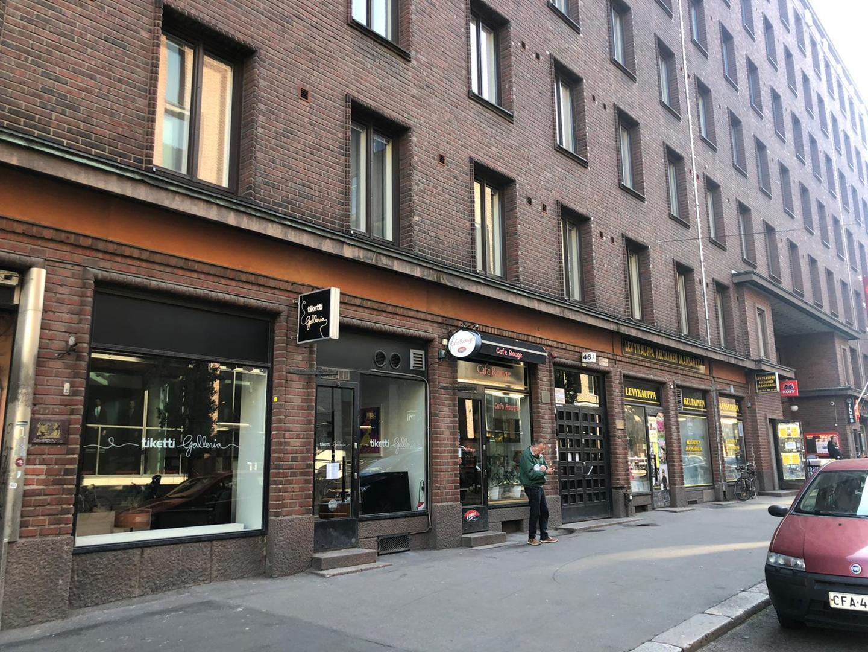 Urho Kekkosen katu 4-6, 55m2, Katutaso, Liiketila