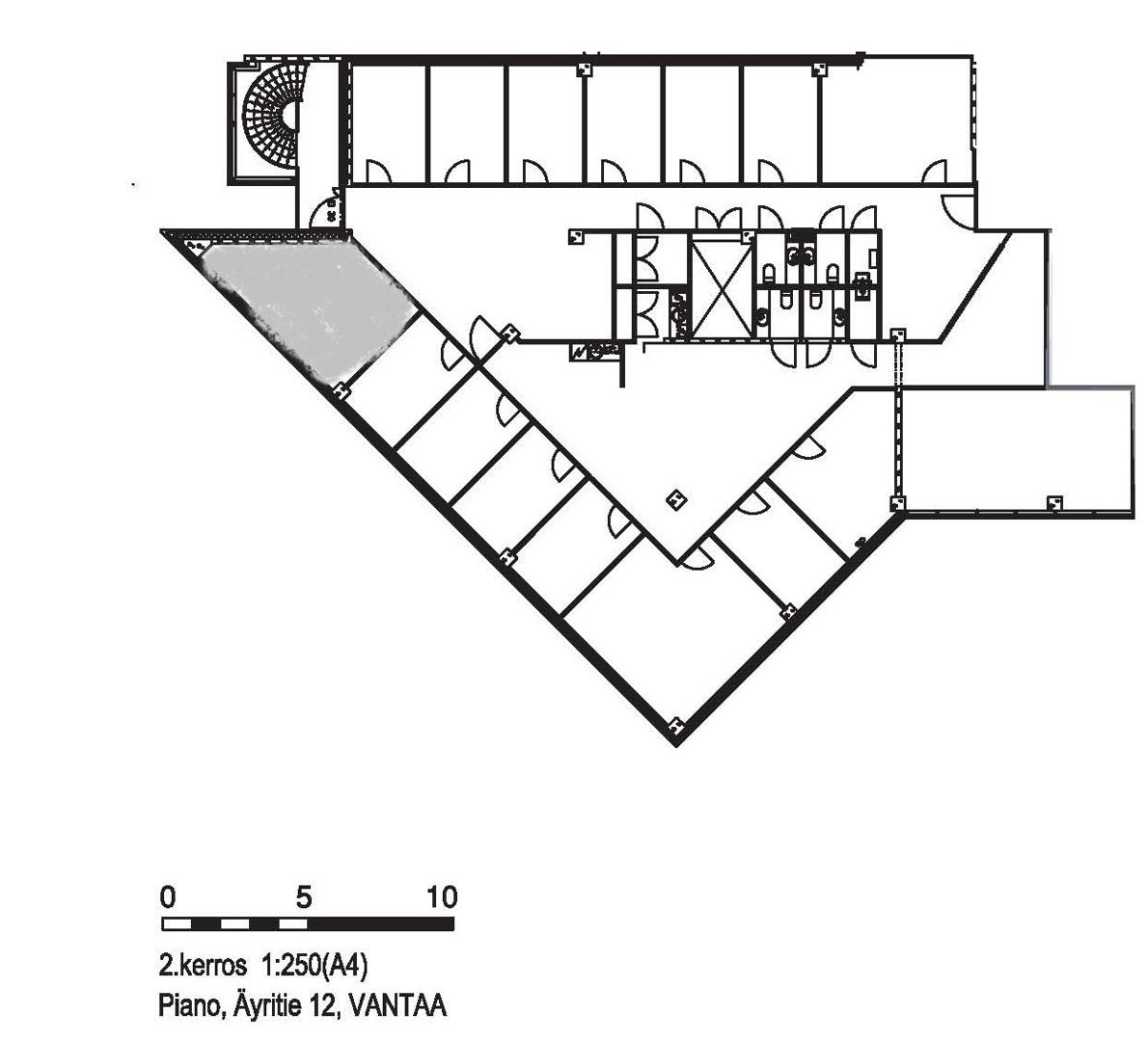 Äyritie 12 A PIANO, 425m2, 2. kerros, Toimistotila