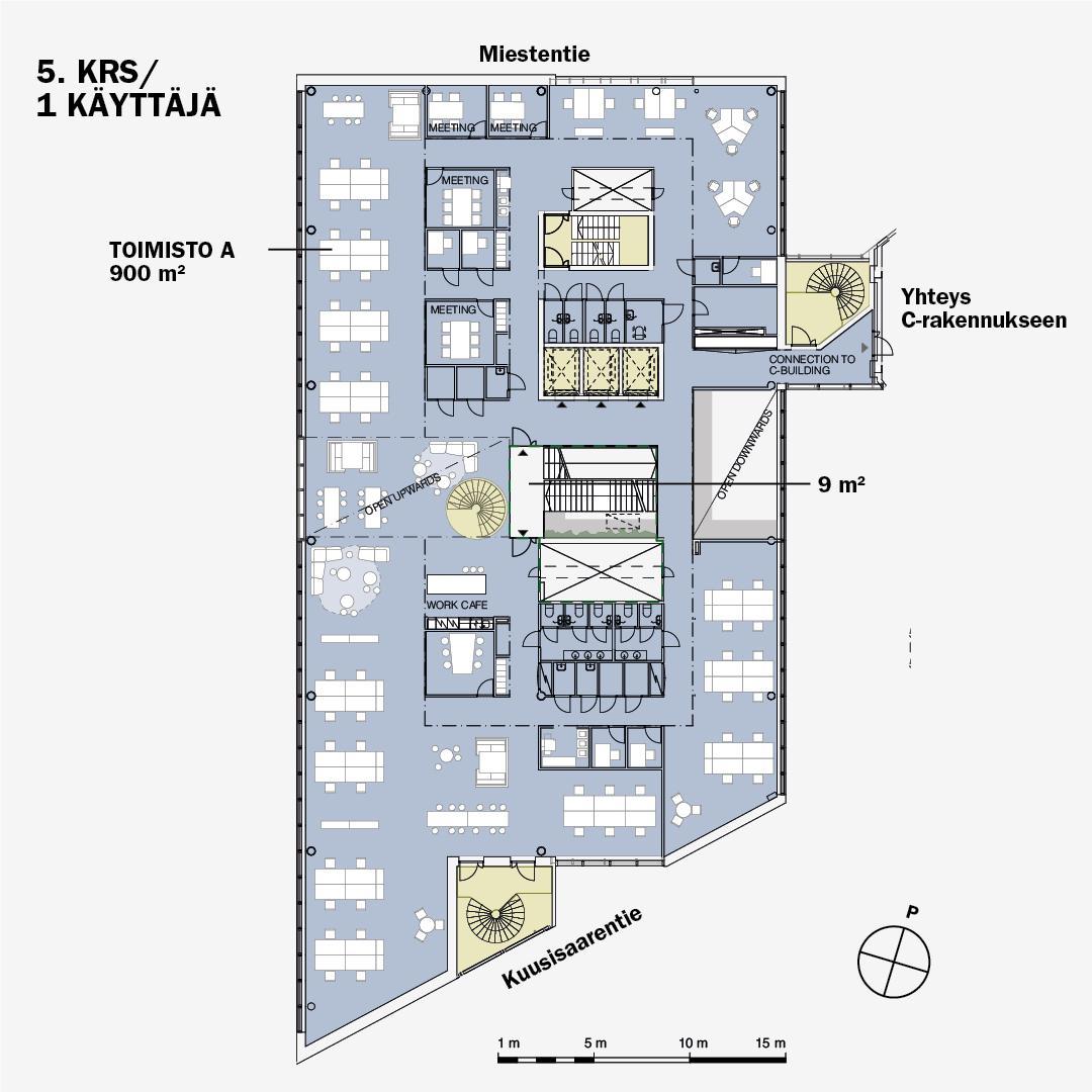 Miestentie 7 B-talo, 2715m2, Useita kerroksia, Toimistotila