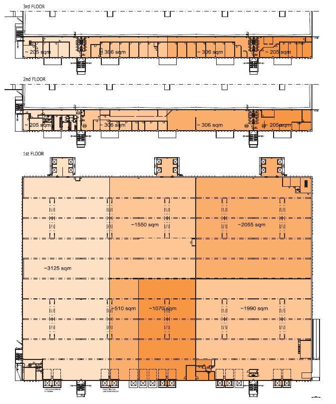 Manttaalitie 5-7, 1100m2, 2. kerros, Toimistotila