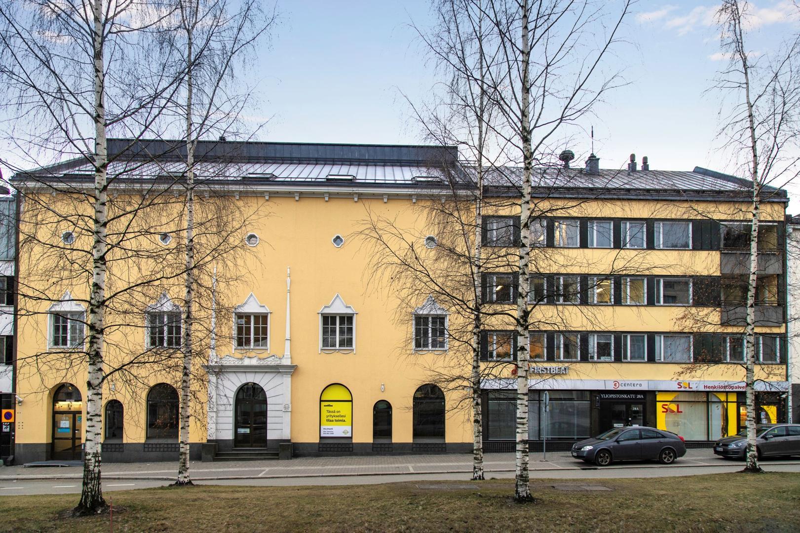Yliopistonkatu 28 JYVÄSKYLÄ, 400m2, 2. kerros, Toimistotila