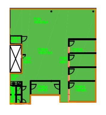 Teknobulevardi 3-5 F-talo, 240m2, 1. kerros, Toimistotila