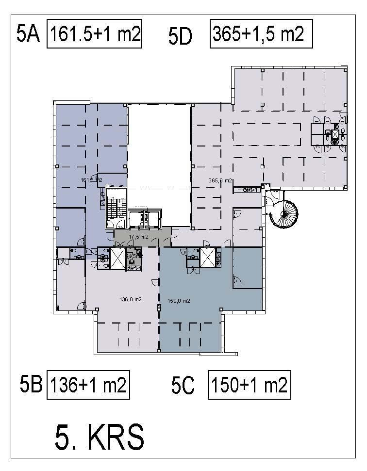 Äyritie 24 HALO, 367m2, 5. kerros, Toimistotila