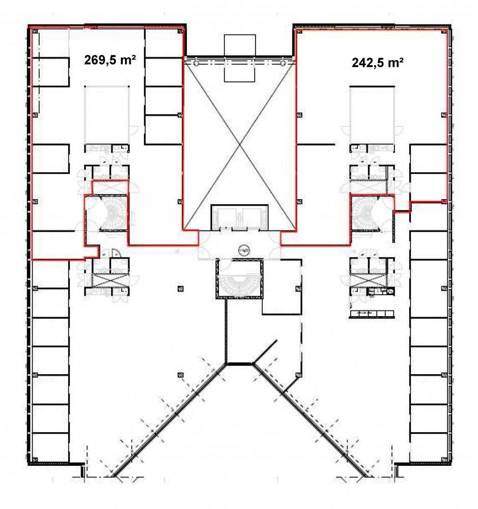 Itsehallintokuja 6 Talo 2, 270m2, 4. kerros, Toimistotila
